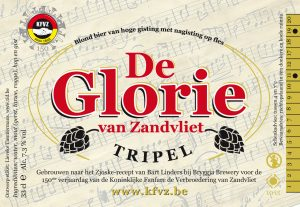 Etiket Glorie van Zandvliet